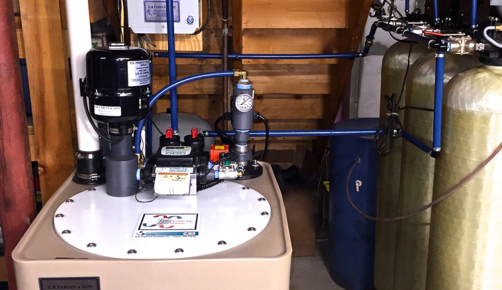 Radon Water Mitigation System